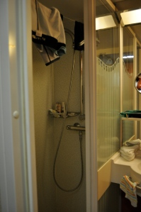 NCL stateroom bathroom